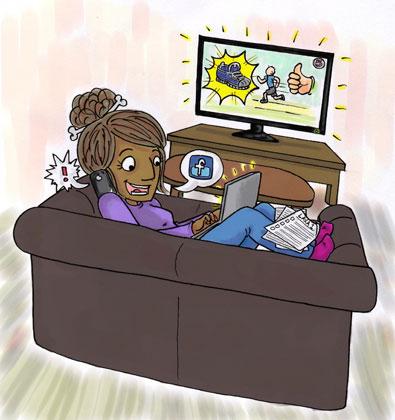 Konflikt kring barns medieanvändning