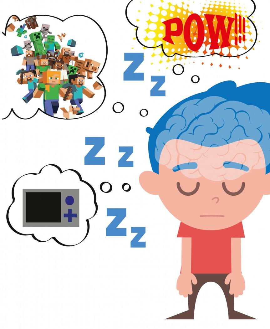 Hjärntrötta barn