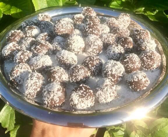 Sockersmarta Sussies smarta chokladbollar
